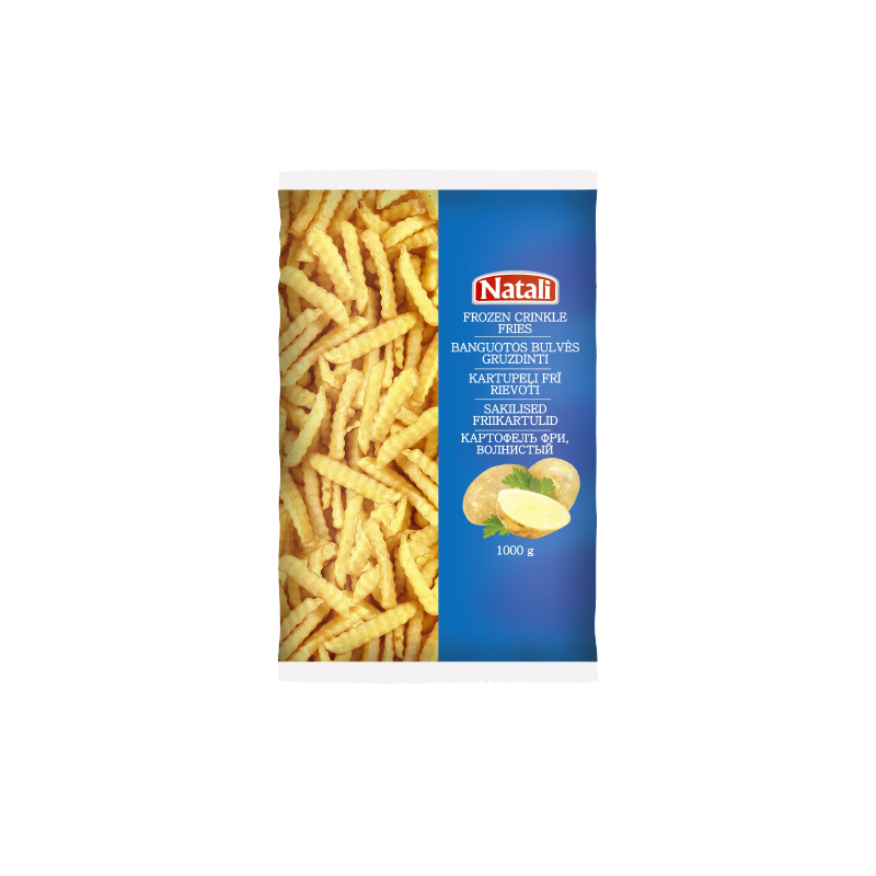 "Crinkle cut fries ""Natali"""