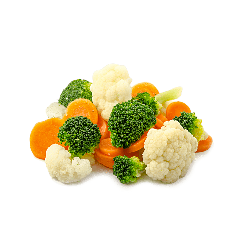 Vegetable mix with broccoli