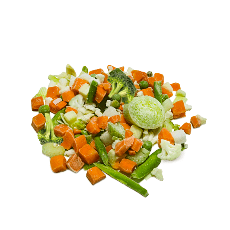 Vegetable mix for soup