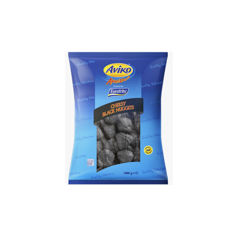 Aviko cheese black nuggets