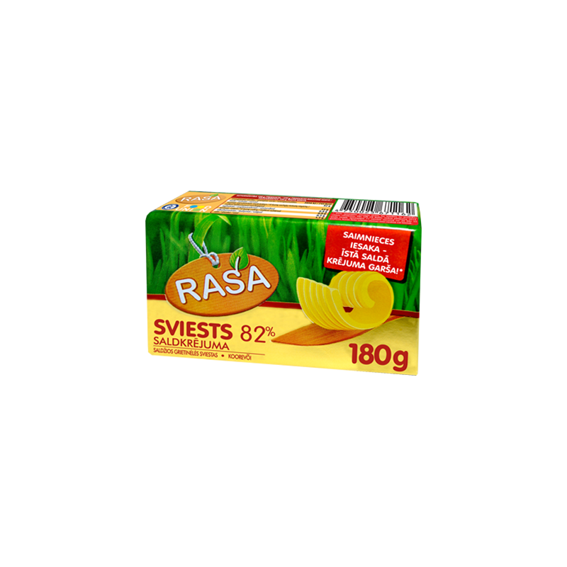 Sweet cream butter Rasa 82%